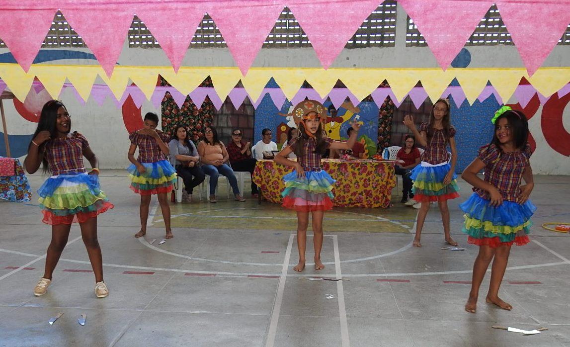 Secretaria de Assistência Social realiza festa junina para as crianças do SCFV