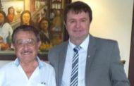 Maranhão posa ao lado do irmão de Romero e aquece especulações políticas